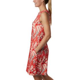 Columbia Chill River Printed Kleid Damen bright poppy/print